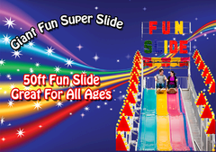 120ft Super Fun Slide