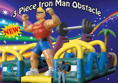 3 Piece Iron Man Obstacle Course