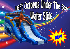 16ft Under The Sea Water Slide