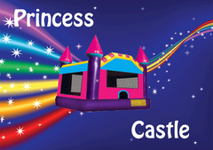 Princess Bounce House Shared