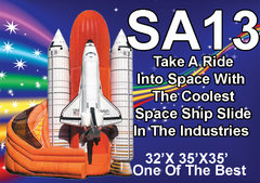 SA13 Space Ship Slide