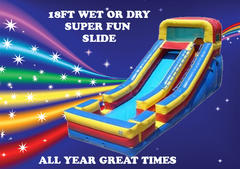 Super Fun Water Slide