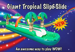 Giant Slip & Slide with a Pool SHARED