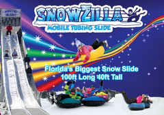 150ft SnowZilla Florida's Biggest Snow Slide