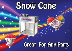 Sno Cone Machine Shared