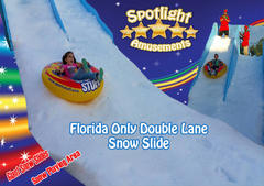Giant Double Lane Snow Slide
