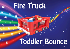 Mini Fire Truck Bouncer