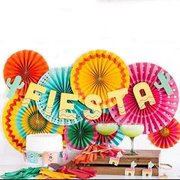 Fiesta Decor and Setup