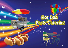 Hot Dog Catering Cart