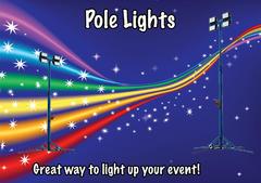 10Ft Pole Lights