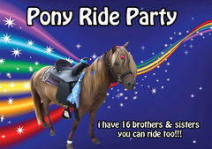 Single Pony Ride