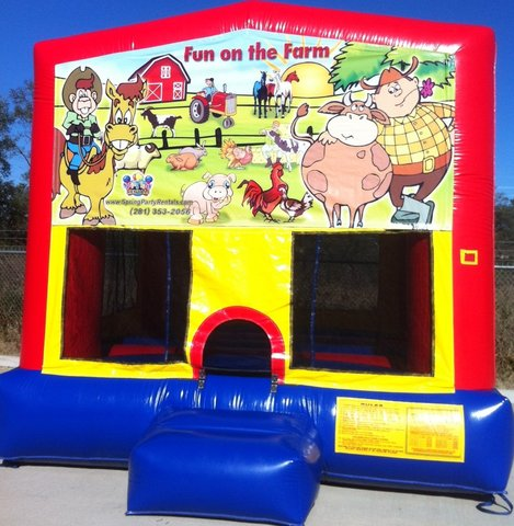 Farm Theme Fun House
