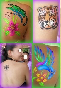 Airbrush Face Painting and Tattoos