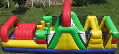 30 Ft Dual Lane Obstacle Course $350