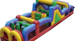 40 Ft Dual Lane Obstacle Course $395