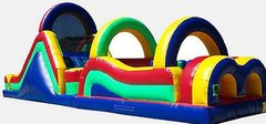 60 Ft Dual Lane Obstacle Course $499