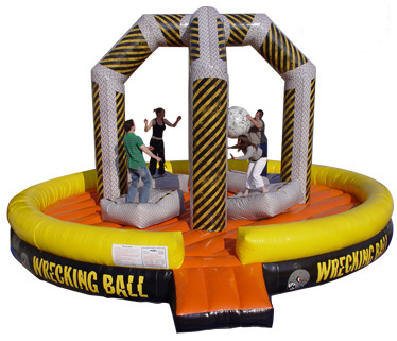 4 Player Wrecking Ball Game