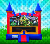 TMNT Primary Colors Modular Bounce House