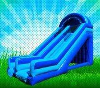 20 FOOT DRY BLUE GIANT SLIDE