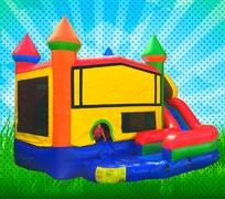 DRY Primary Colors Modular Combo Bounce House