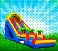 20 FOOT DRY TROPICAL SCREAM SLIDE