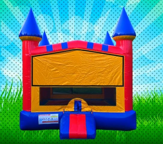 Primary Colors Modular Bounce House