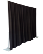 Pipe and Drape Black 8