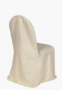 Ivory Chair Cover