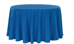 "Royal Blue 120"" Round"