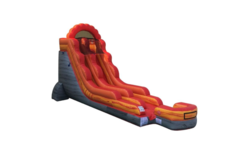 18' Fire slide wet