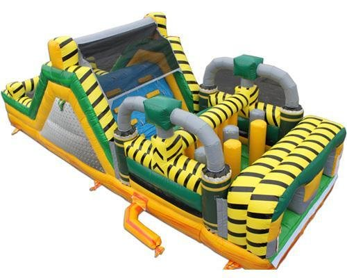 30' Toxic Obstacle course 7hr rental 4hr price