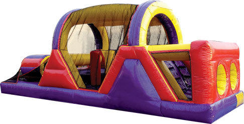 30' Obstacle Course 7 hr Rental for 4 hr Price