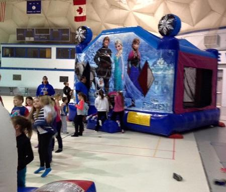 Frozen Bouncer Rental