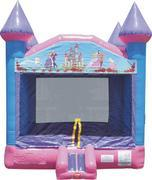Pink Princess Castle Bounce House