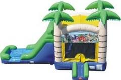 Jungle Combo Bounce House