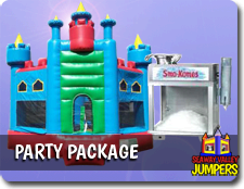 Knights Castle Party Package
