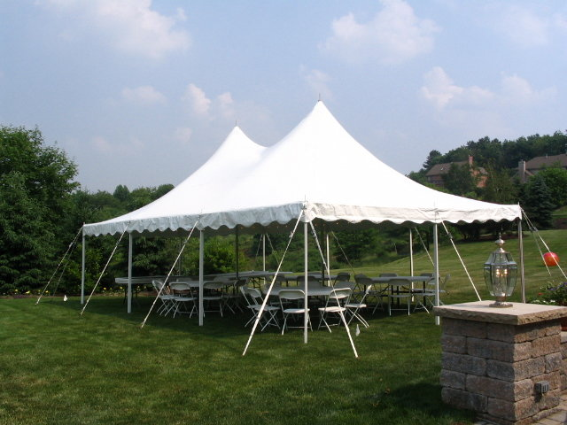 20x40 Deluxe Pole Tent  , Anchor Century Mate
