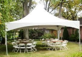 20x20 Ultimate Tent Package Seats 32 (White Chairs)
