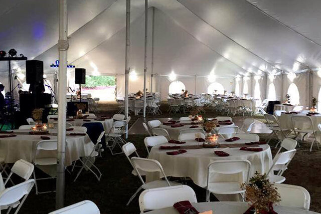 30x60 Wedding Package (Seats 100)