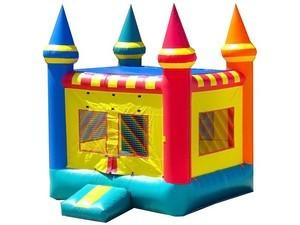 Castle Bounce House, Cotton Candy, Popcorn Machine
