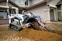 Bobcat Mt55 w/Trencher