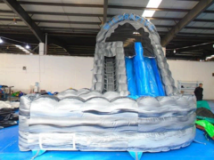 Wild Rapids 2 Lane Waterslide w/Pool
