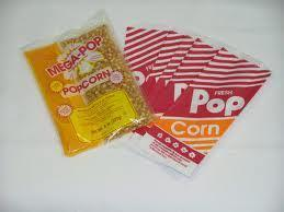 Popcorn Supplies (50 servings)