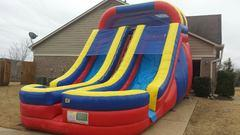 18ft Dual Lane Water Slide