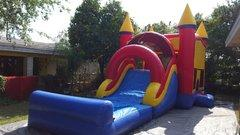 Jump N Splash Water Slide