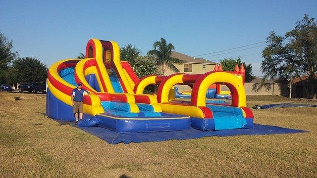 15 ft Helix Waterslide