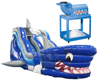 Shark Water Slide Snow Cone Package