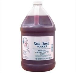 Cherry Sno-Kone Syrup- 64 Servings