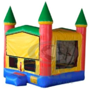 (51) Party Castle Bounce 2 w/Hoop