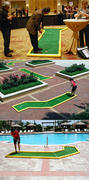 Mini Putt Putt Game - 3-hole set